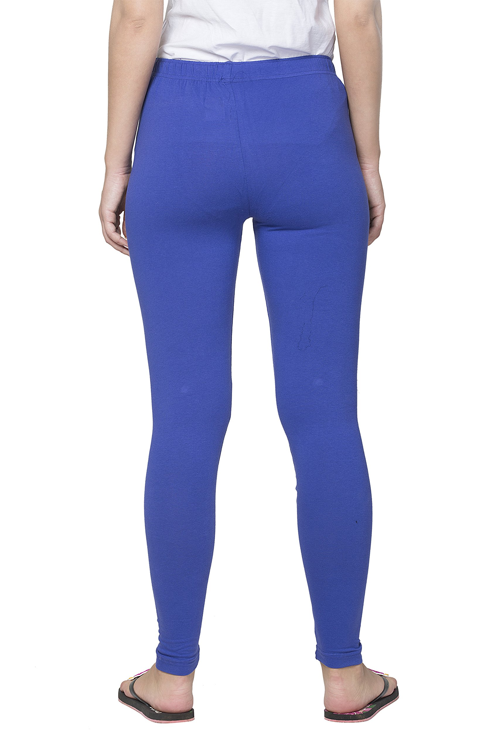 Clifton Women's Cotton Spandex Fine Jersey Leggings Pack Of 6-Assorted-4-XL by Clifton (Image #3)