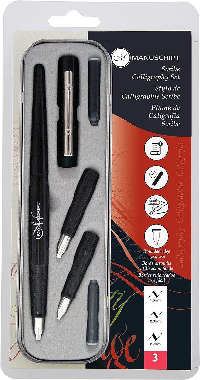 Manuscript Caligraf-A Pen Set - Kit de bolígrafo de caligrafía y recambios