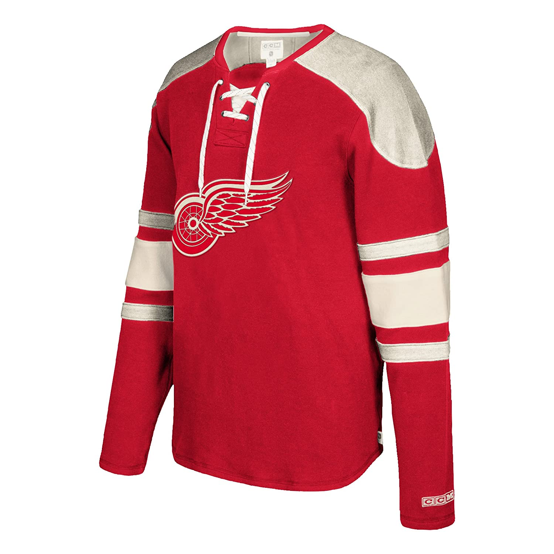 fec608a7196f3 Amazon.com   NHL mens CCM L S Jersey Crew   Sports   Outdoors