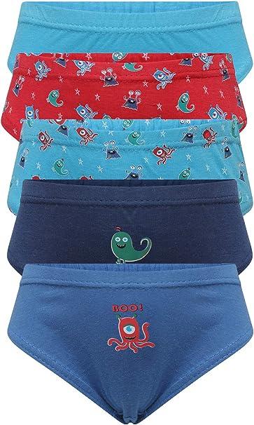 Infantil/Niño 100% Algodón Liso Ropa Interior (Pack De 7): Amazon.es: Ropa y accesorios