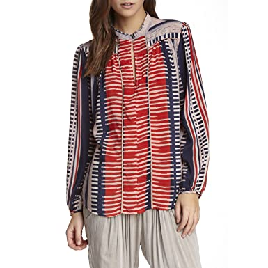 9f91514a92d69 Image Unavailable. Image not available for. Color  THE ODELLS Womens Poet  Blouse ...