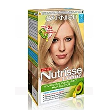 Garnier Nutrisse Creme Hair Colour Dye Extra Light Sandy Beige ...