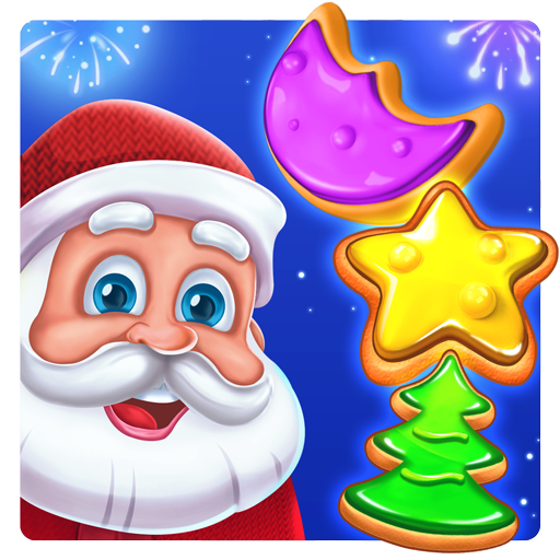 Christmas Cookie - Santa Claus's Match 3 -