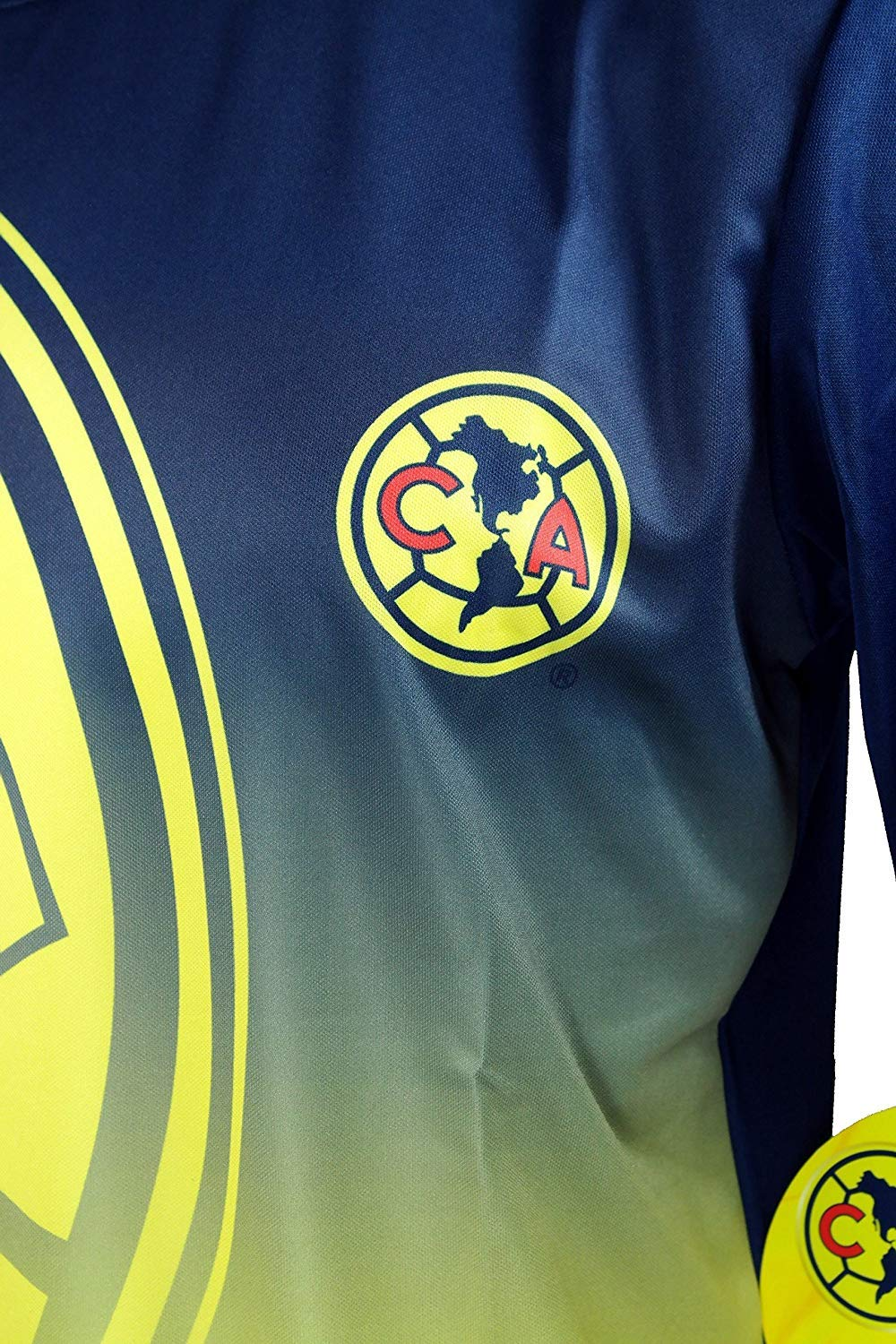 010 Icon Sports Adult Club America Official Soccer Poly Jersey Shirt