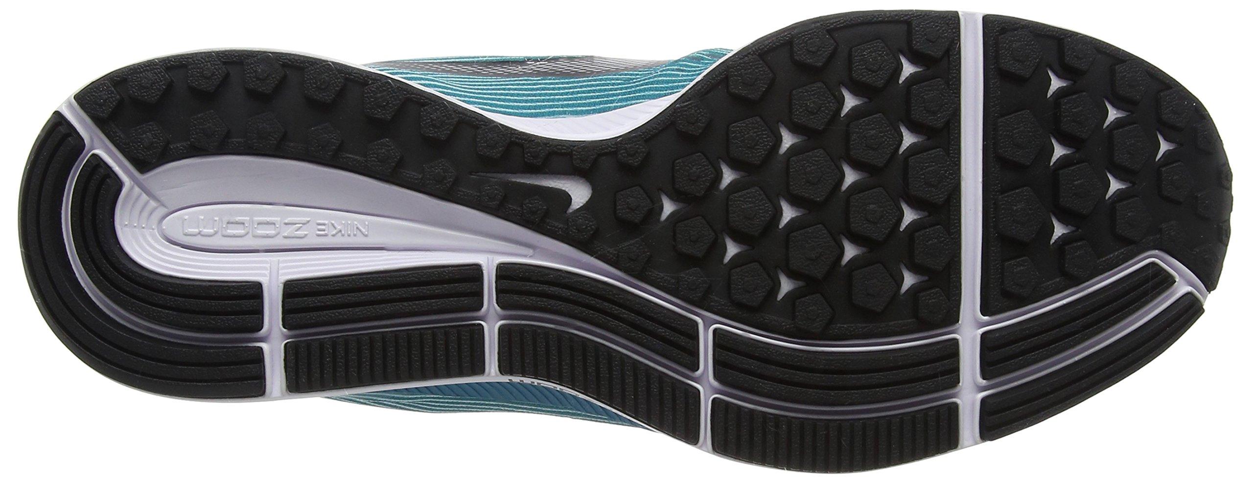 Nike Men's Air Zoom Pegasus 34 White / Black - Blustery 880555-101 (11.5) by NIKE (Image #3)