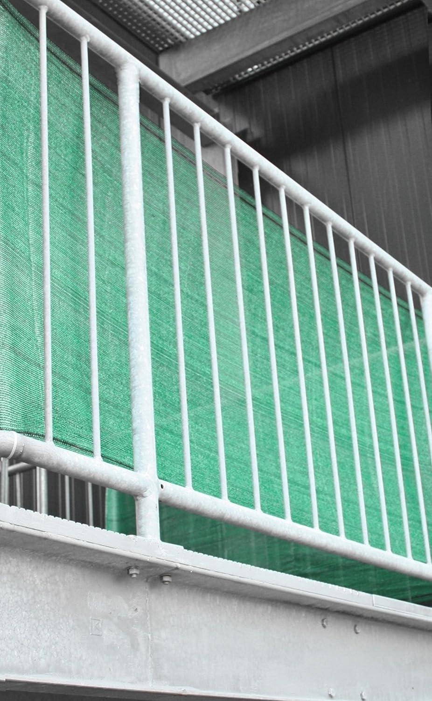 Sichtschutz Balkon Balkonverkleidung Balkonsichtschutz Grun 0 80