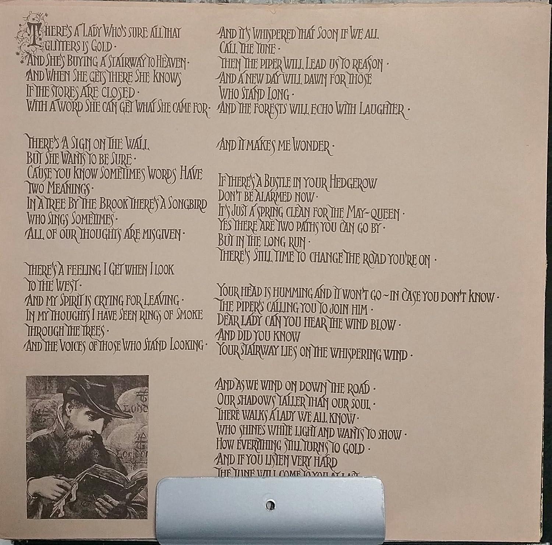 Led Zeppelin Led Zeppelin Iv Zoso Vinyl 1971 Amazon