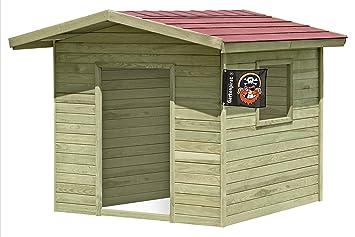 Gut bekannt Gartenpirat Spielhaus Lilli für draussen Kinderhaus aus Holz für IF16