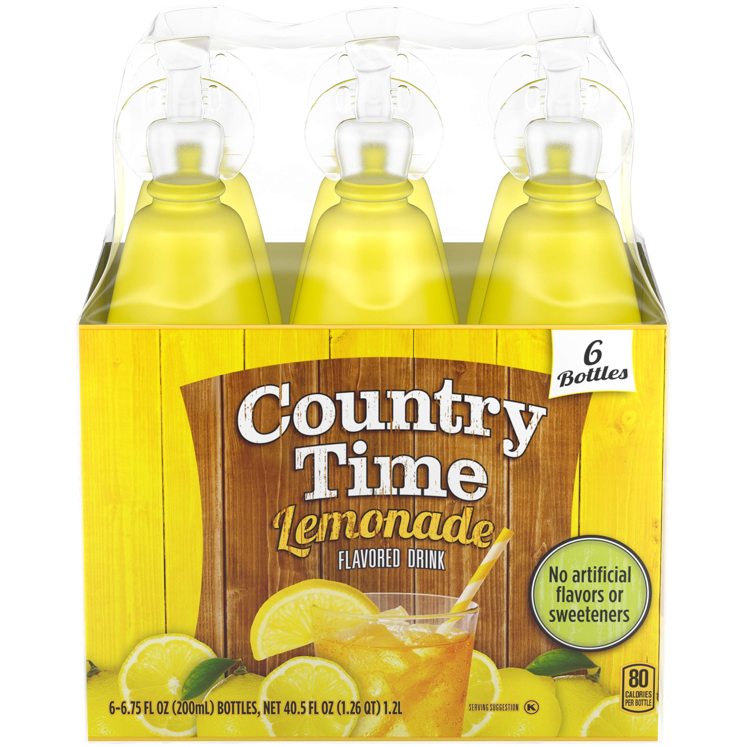 Country Time Lemonade Drink Mix (6.75 oz Bottles, Pack of 8) by Country Time