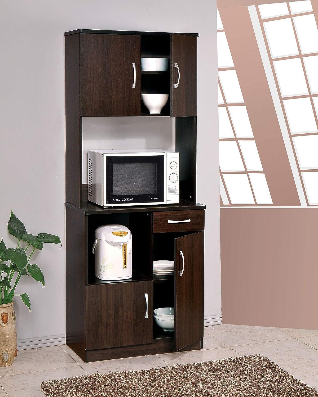 Acme Quintus Kitchen Cabinet in Espresso