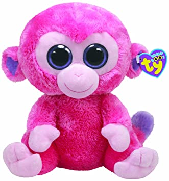 TY 7136909 Beanie Boos - Mono de peluche Razberry , 21,5 cm [Importado