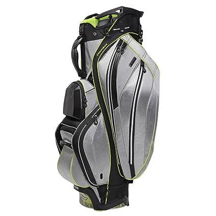 Ogio Golftasche Chamber II - Bolsa de carro para palos de golf, color plateado,