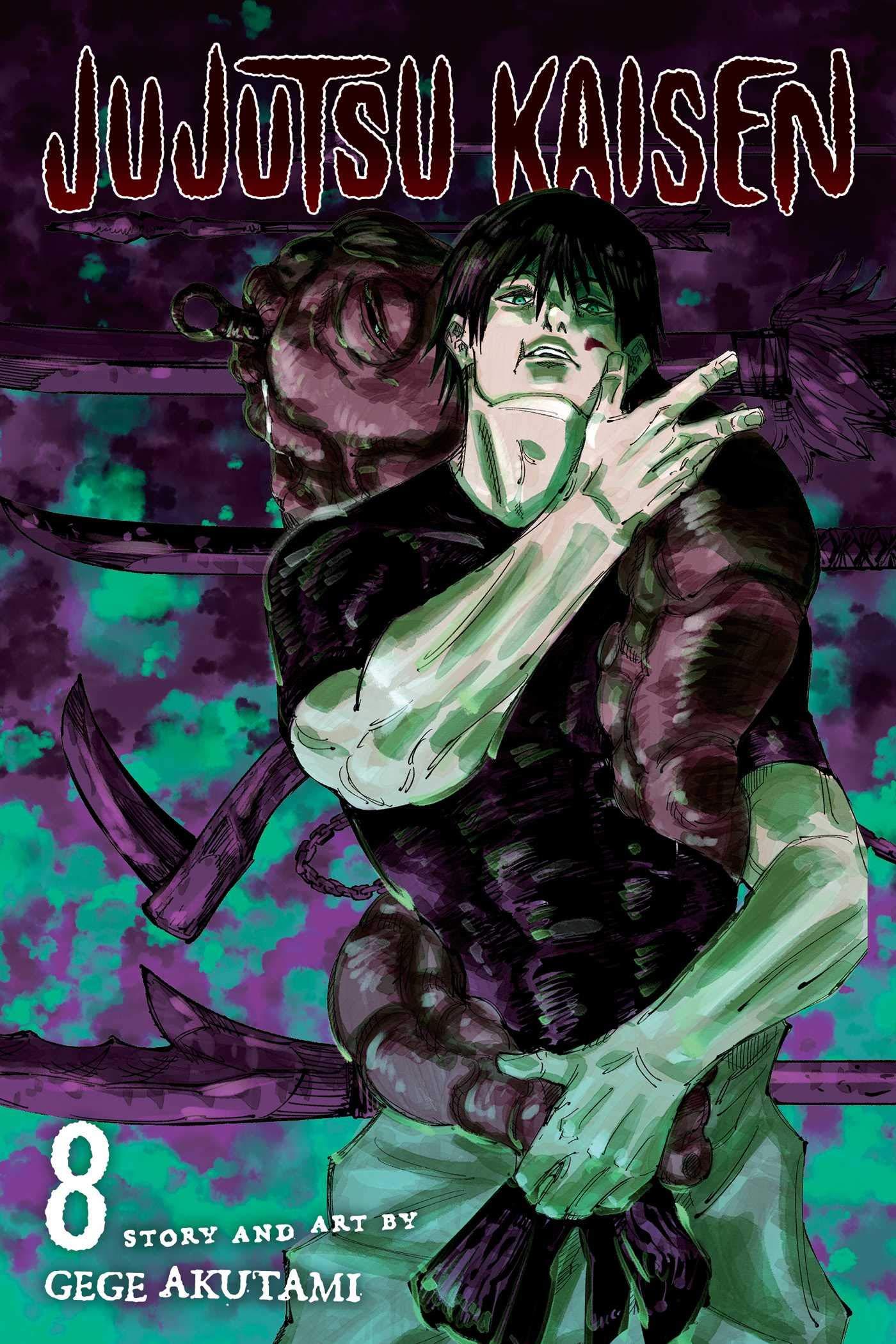 Jujutsu Kaisen Vol 8 Amazon De Akutami Gege Akutami Gege Fremdsprachige Bucher
