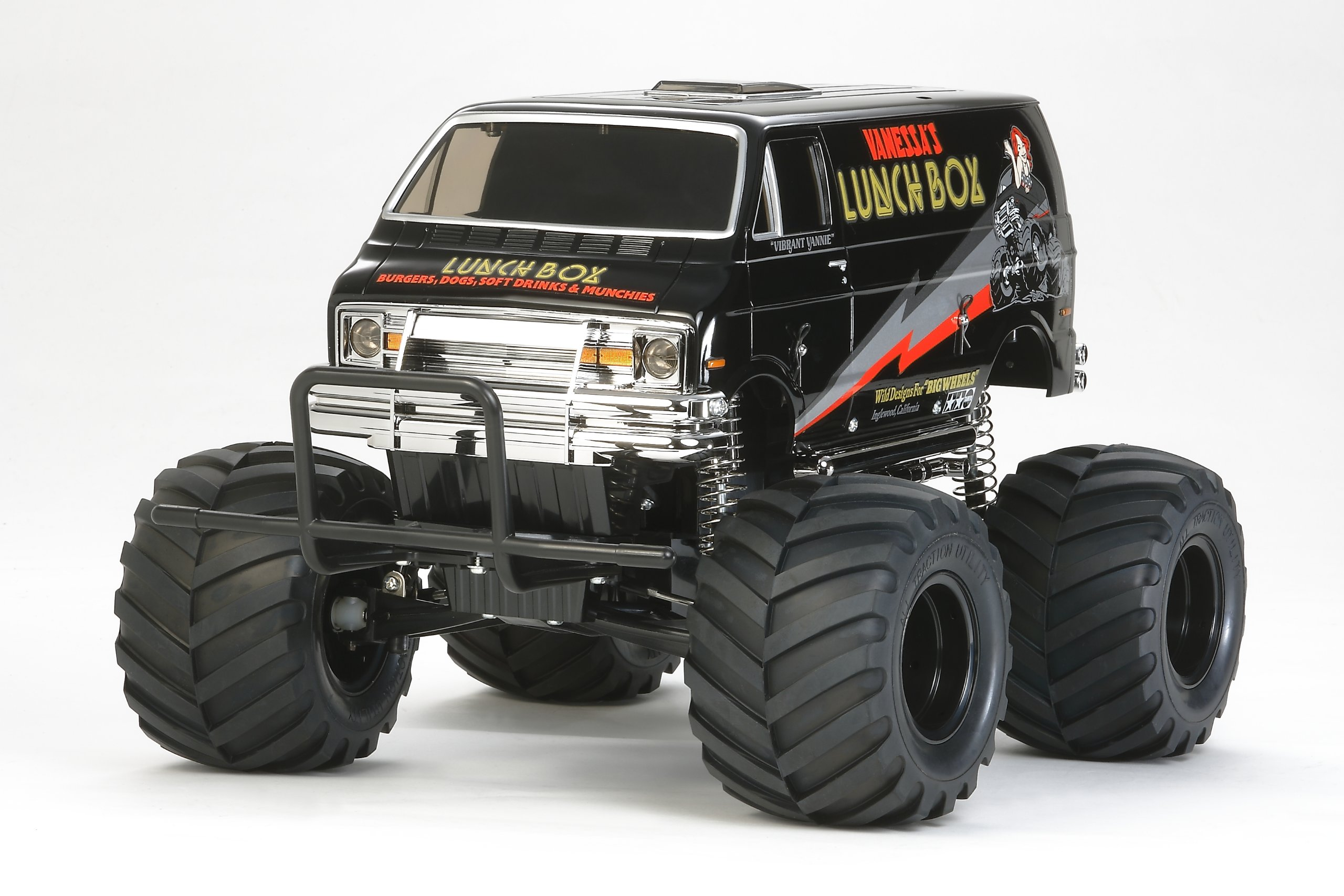 Tamiya 1/10 RC Car Series No.546 1/12 lunch box Black Edition 58546 by Tamiya