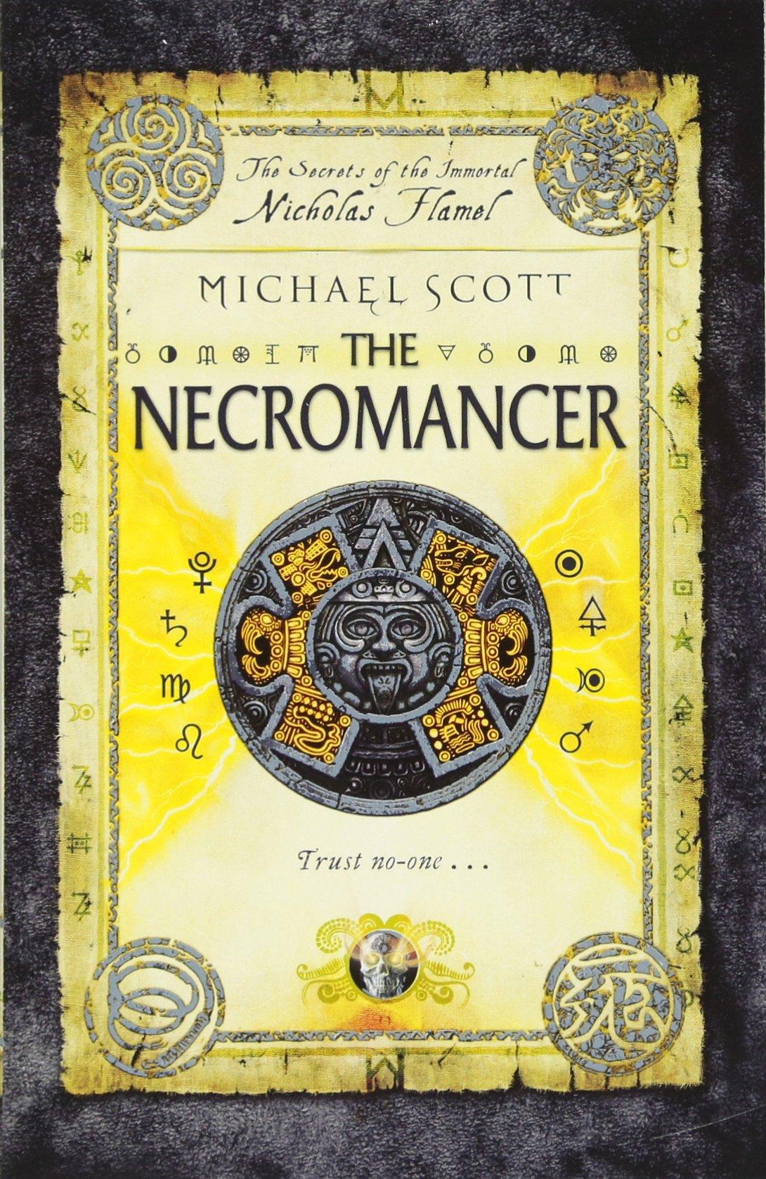 The Necromancer: Book 4 (the Secrets Of The Immortal Nicholas Flamel):  Amazon: Michael Scott: 9780552561969: Books