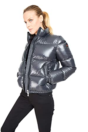 best service c2ff1 01177 GOOSE FEEL Jade - Piumino Donna - Giacca Invernale Bomber ...