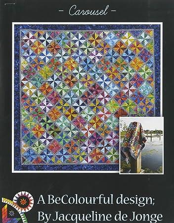 Amazon Carousel Quilt Pattern By Jacqueline De Jonge Arts