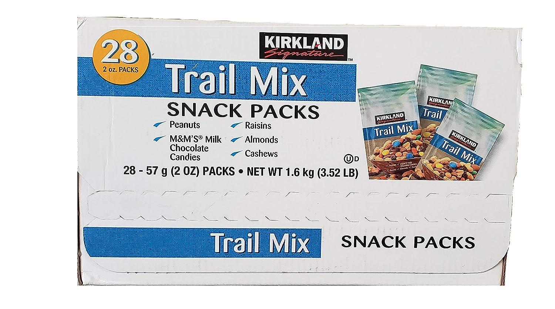 Kirkland Signature Trail Mix Snack Pack, 3.52 Lb