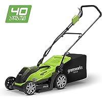 Greenworks Tondeuse à gazon sans fil sur batterie 35cm 40V Lithium-ion (sans batterie ni chargeur) - 2501907