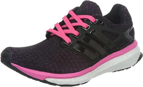 adidas Performance Energy Boost Zapatillas para Correr Running Negro Rosa para Mujer Torsion System: Amazon.es: Deportes y aire libre