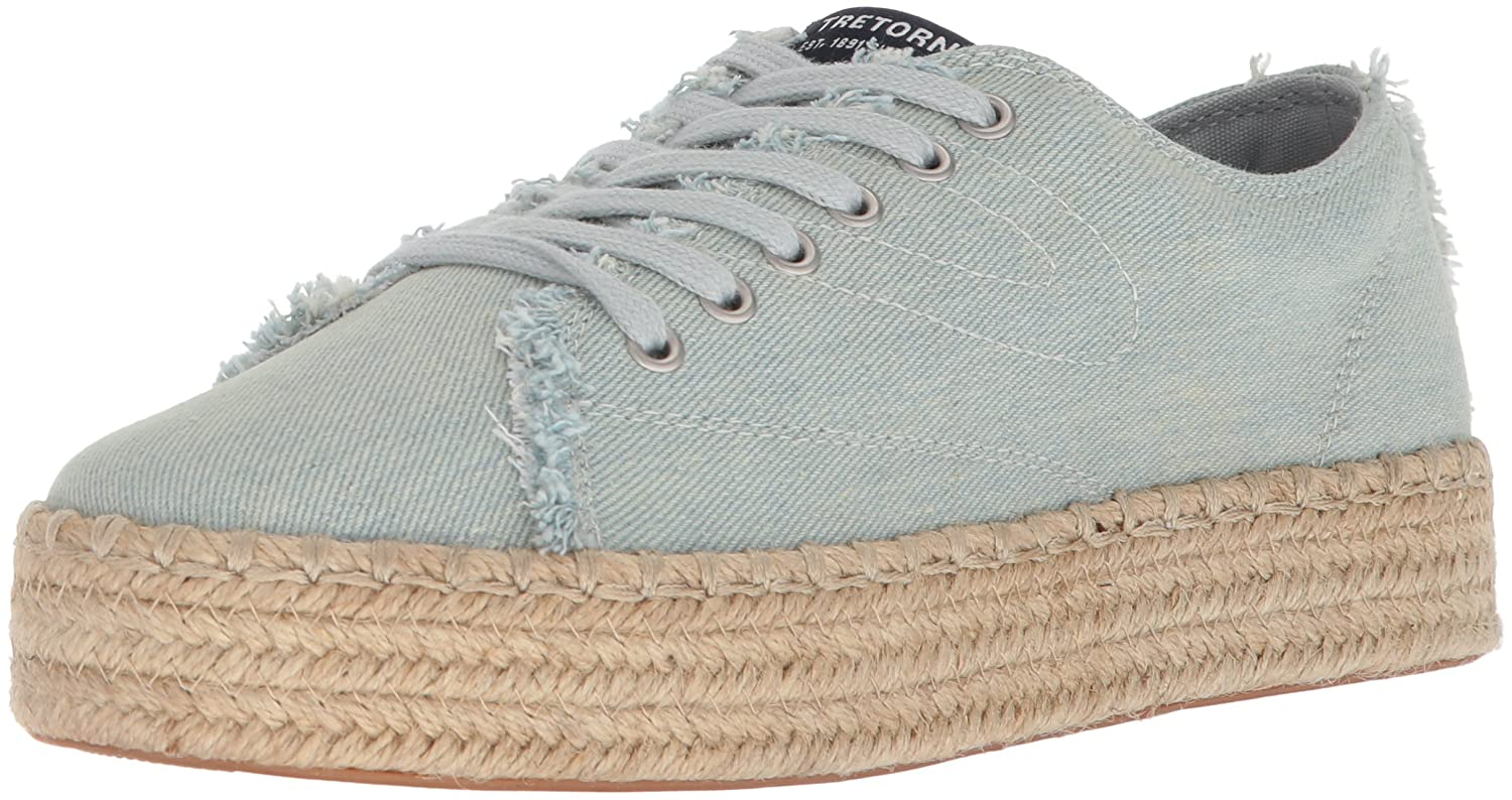 Tretorn Women's Eve Sneaker B074QVY9V3 4 B(M) US|Light Blue