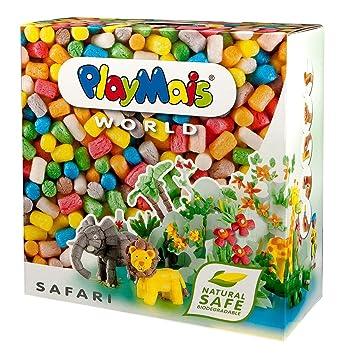 Loick Biowertstoff 160020 PlayMais World Safari - Set de modelado (más de 1000 piezas) [importado de Alemania]