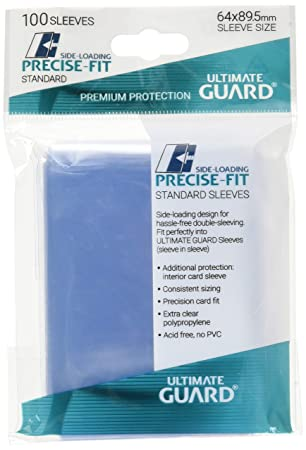 Ultimate Guard 10478 Fundas magicas Precise Fit, paquete de 100