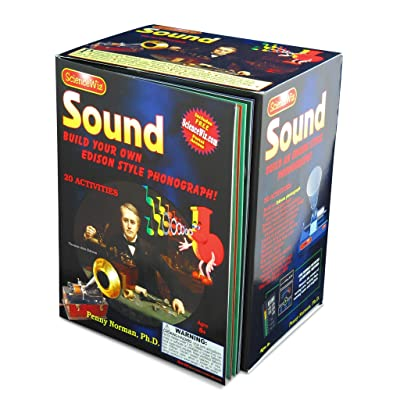 Science Wiz - Sound Build Your Own Edison Style Phonograph: Toys & Games