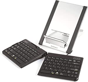 Goldtouch GTLS-0099 Go!2 Mobile Keyboard and Laptop Stand Bundle (USB)