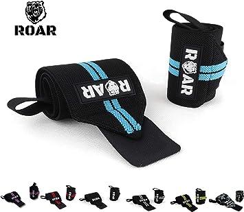 Roar® Muñequeras Deportivas, Muñequeras Crossfit Hombre y Mujer ...