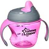 Tommee Tippee Closer To Nature First Sips Transition Cup, Pink, 5 Ounce, 1 Count