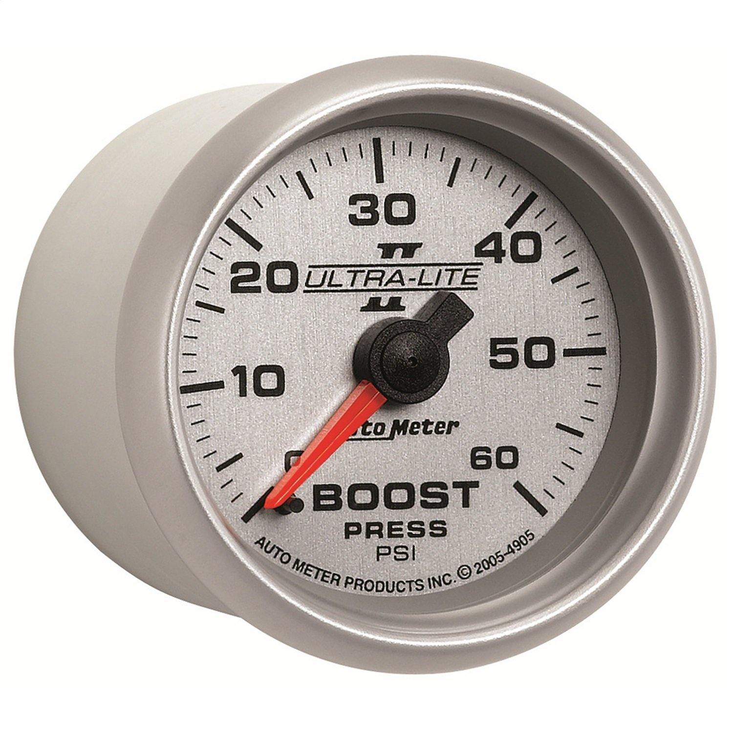 Auto Meter 4905 Ultra-Lite II 2-1/16' 0-60 PSI Mechanical Boost Gauge