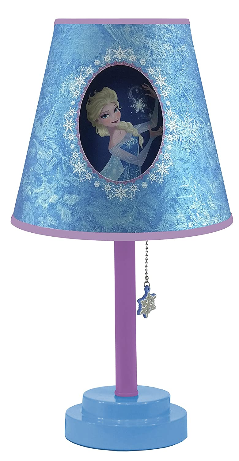 Amazon.com: Disney Frozen Table Lamp with Die Cut Lamp Shade: Toys ...