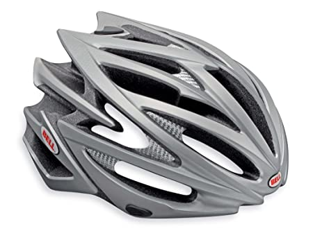 Bell Volt Racing Bicycle Helmet Matte Titanium Medium 55 – 59cm 21.75 – 23.25