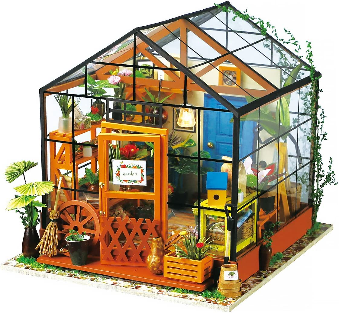 Free Amazon Promo Code 2020 for DIY Dollhouse Wooden Miniature Furniture Kit