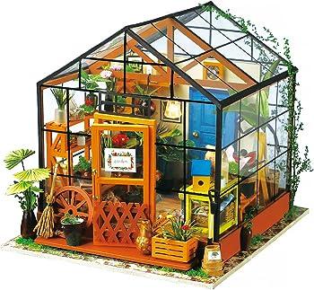 Robotime DIY Dollhouse Wooden Miniature Furniture Kit