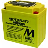 MotoBatt MB9U (12V 11 Amp) 140CCA Factory Activated QuadFlex AGM Battery
