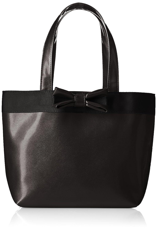 [キタムラ] ハンドバッグ 底板付き R-0575 B00HI6TPT6 パールブラック [黒] 15151 パールブラック [黒] 15151