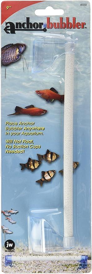 Jw Pet Company Anchor Bubbler 9 Inch Aquarium Accessory Bubble Blowing Products Pet Supplies