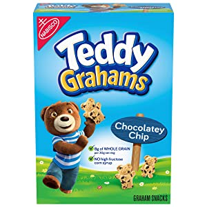 Teddy Grahams Chocolatey Chip Graham Snacks, 10 oz Box