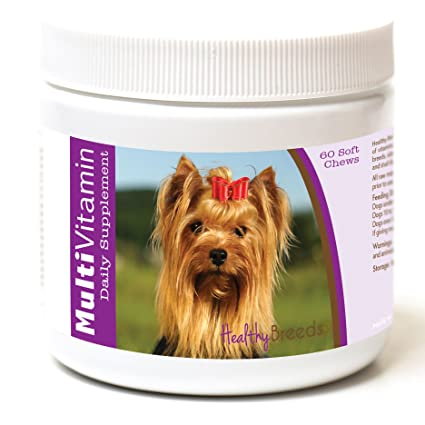 Amazon Com Healthy Breeds Dog Multivitamin Soft Chew For Yorkshire