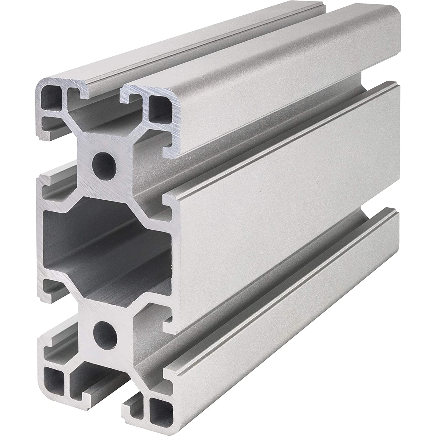 Aluminium Extrusion Profile 4080 T-Slot 8 mm (1500 mm) LED-Glass