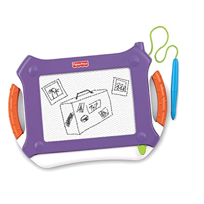 Fisher-Price Travel Doodler Pro, Purple: Toys & Games
