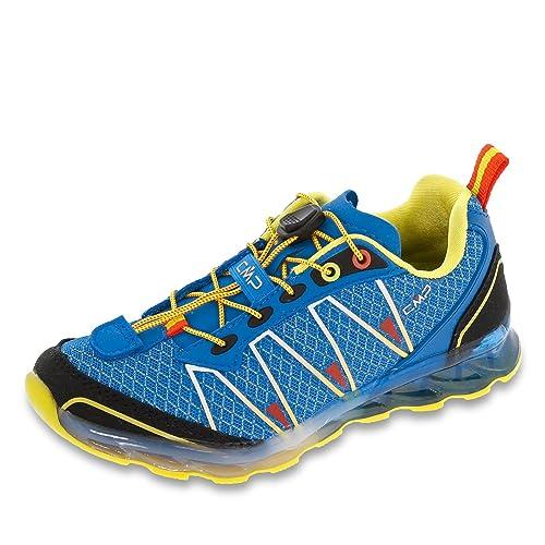 CMP 3q95264-m867 - Zapatos de Cordones de Tela Para Niña, Color Azul, Talla 34