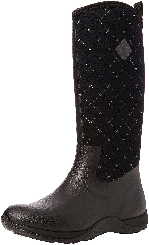 [Muck Boot] レディース Arctic Adventure B01J6MC2YY レディース 9|Black/Quilt Black 9|Black/Quilt Boot]/Quilt 9, アウトドア天国:774d95c5 --- sharoshka.org