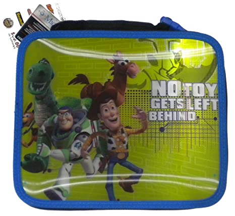 033266f1672 Image Unavailable. Image not available for. Color  Disney Toy Story 3D Soft Lunch  Box ...