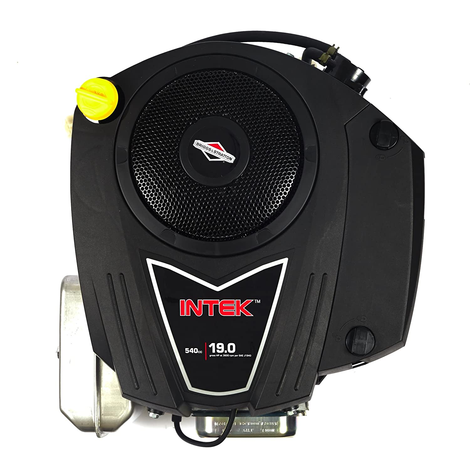 Briggs Stratton 33r877 0003 G1 540cc 19 Gross Hp Intek 16 And Wiring Diagram Free Picture Vertical Ohv Engine With 1 Inch Diameter By 3 5 32 Length Crankshaft Tapped