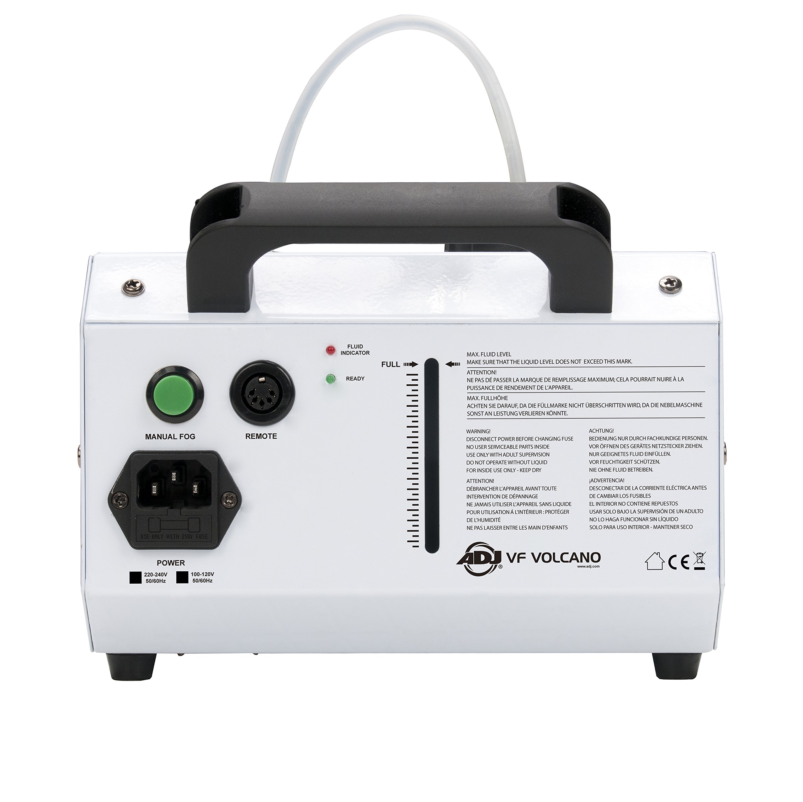 ADJ Products VF VOLCANO FOG mach w/ 6x 3-Watt RGB LED by ADJ Products (Image #2)