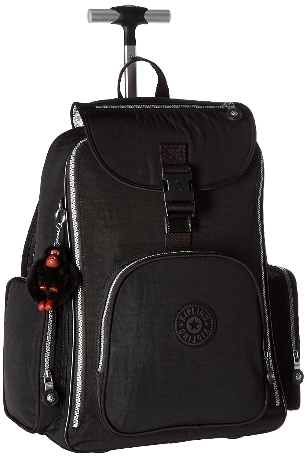 Amazon.com  Kipling Luggage Alcatraz Wheeled Backpack with Laptop  Protection, Black, One Size  Shoes 1d5ff5bdf6
