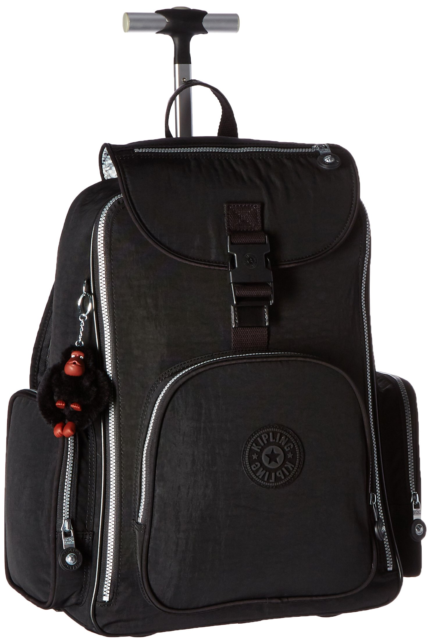 Kipling Luggage Alcatraz Wheeled Backpack with Laptop Protection, Black, One Size by Kipling